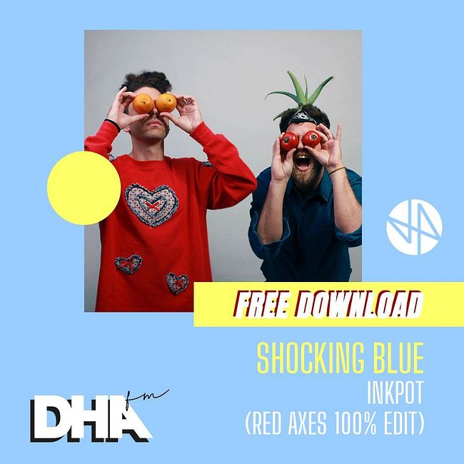 Free Download: Shocking Blue - Inkput  (Red Axes 100% Edit)