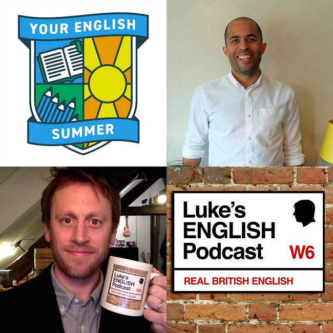 522. Learning English at Summer School in the UK (A Rambling Chat with Raphael Miller)