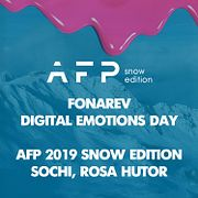 Fonarev - Digital Emotions Day | AFP 2019 Snow  Edition | Sochi Rosa Hutor