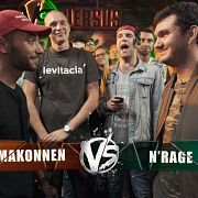 VERSUS: FRESH BLOOD 4 (J.Makonnen VS N'rage) Этап 3