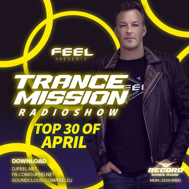 DJ FEEL - TOP 30 APRIL 2020 TRANCEMISSION (11-05-2020) #1008