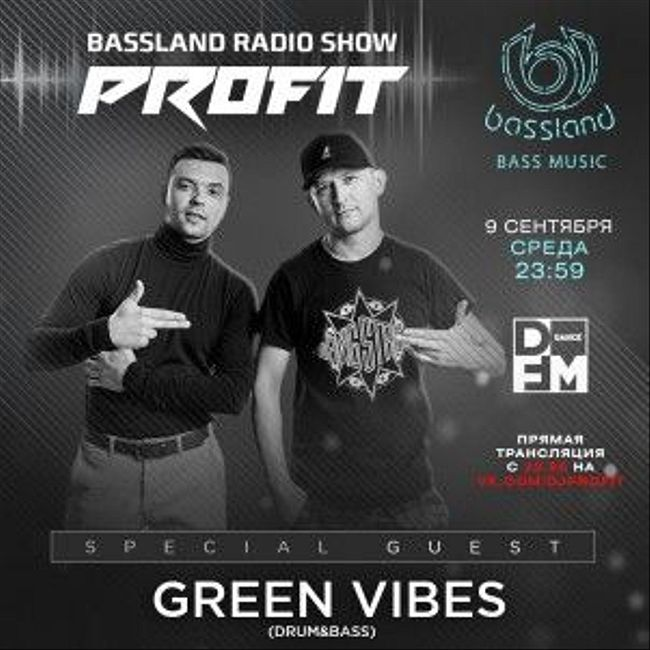 Bassland Show @ DFM (09.09.2020) - Special guest Green Vibes